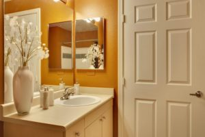 Basic bathrooms don't have to be dull and dreary. Sierra Remodeling builds bright and cheerful rest areas in your home.