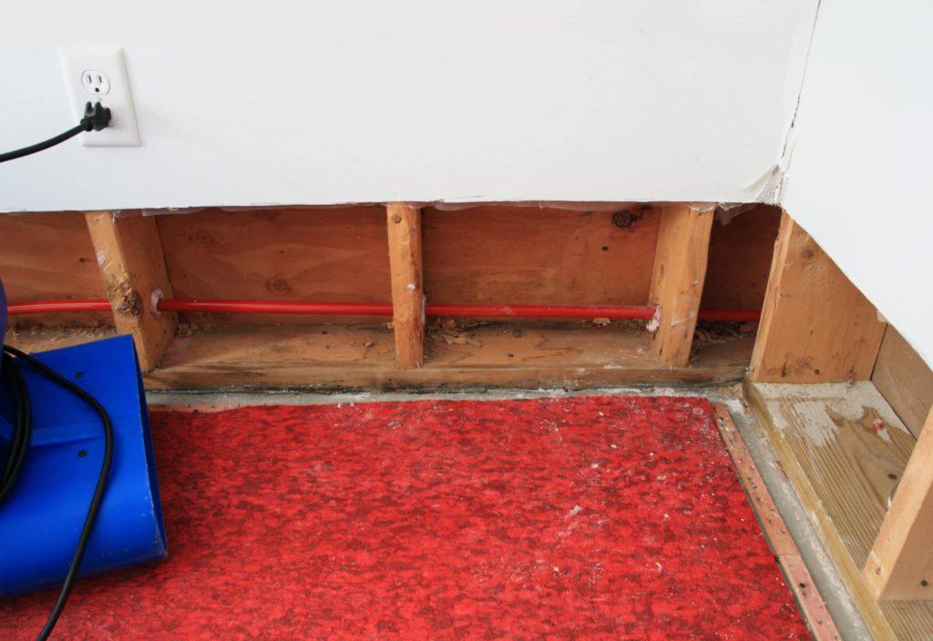 Home repairs gallery sierra remodeling for Bathroom flooded wet carpet