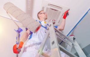 Sierra Remodeling offers home and commercial interior and exterior painting services. We get up on the ladders and into the closets!
