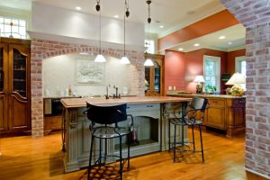 Beautifully appointed tuscan style kitchen remodel