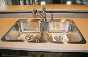 We take everything including this beautiful double kitchen sink into our design process. Sierra Remodeling is a proud Kohler kitchen sink dealer.