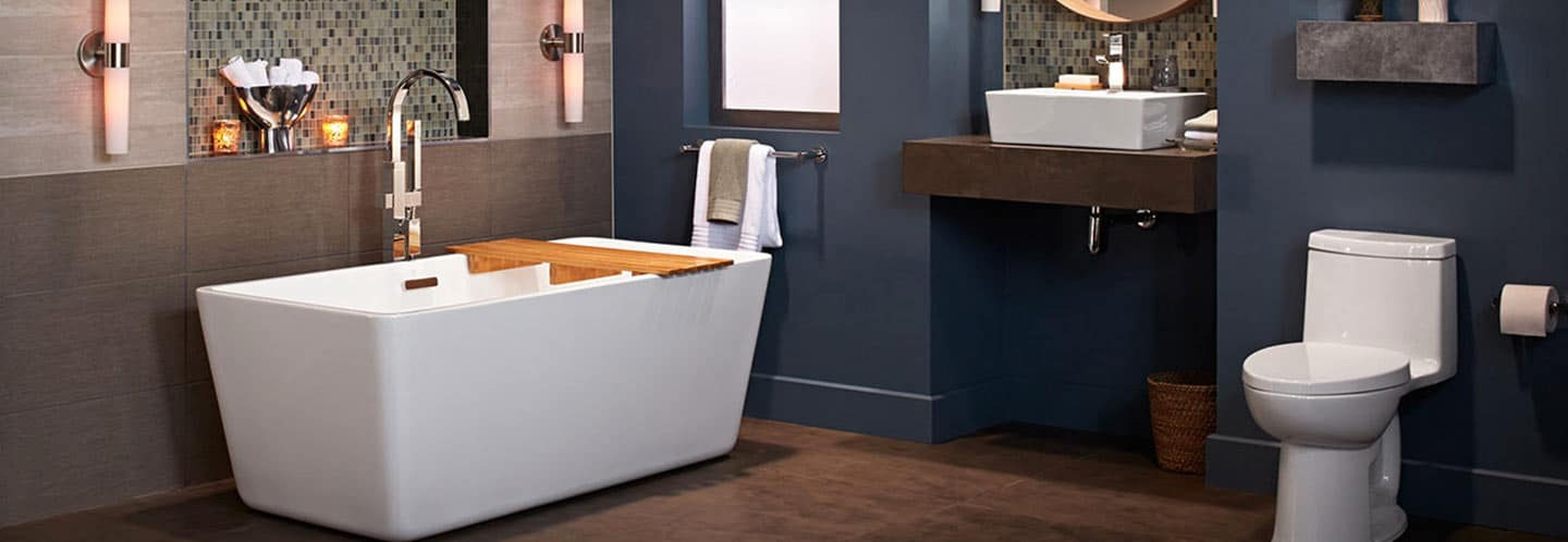 Get the American Standard Modern Bathroom Collection from Sierra Remodeling