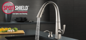 Sierra Remodeling prevents spots on your bathroom faucets for less cleaning!