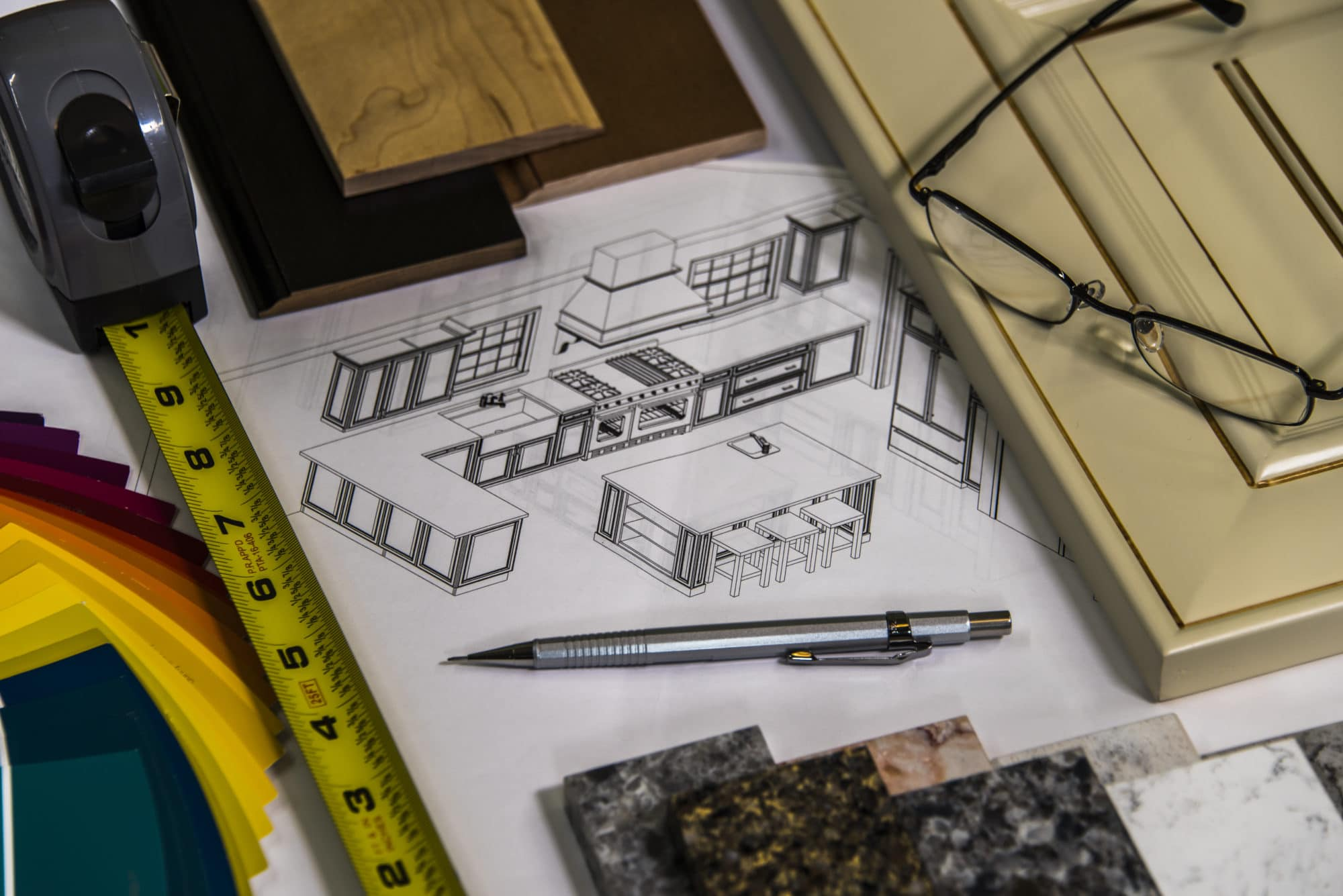 Begin your Sierra Remodeling home remodeling or build project with lots and lots of careful planning!