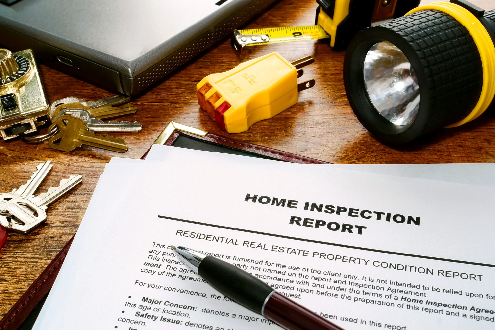 Inspect and evaluate your home's condition carefully!