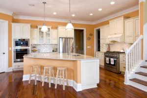 Sierra Remodeling crafts beautiful new kitchens in warm tone colors!
