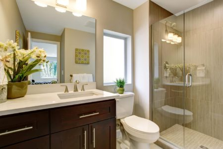 Sierra Remodeling loves building small bathrooms