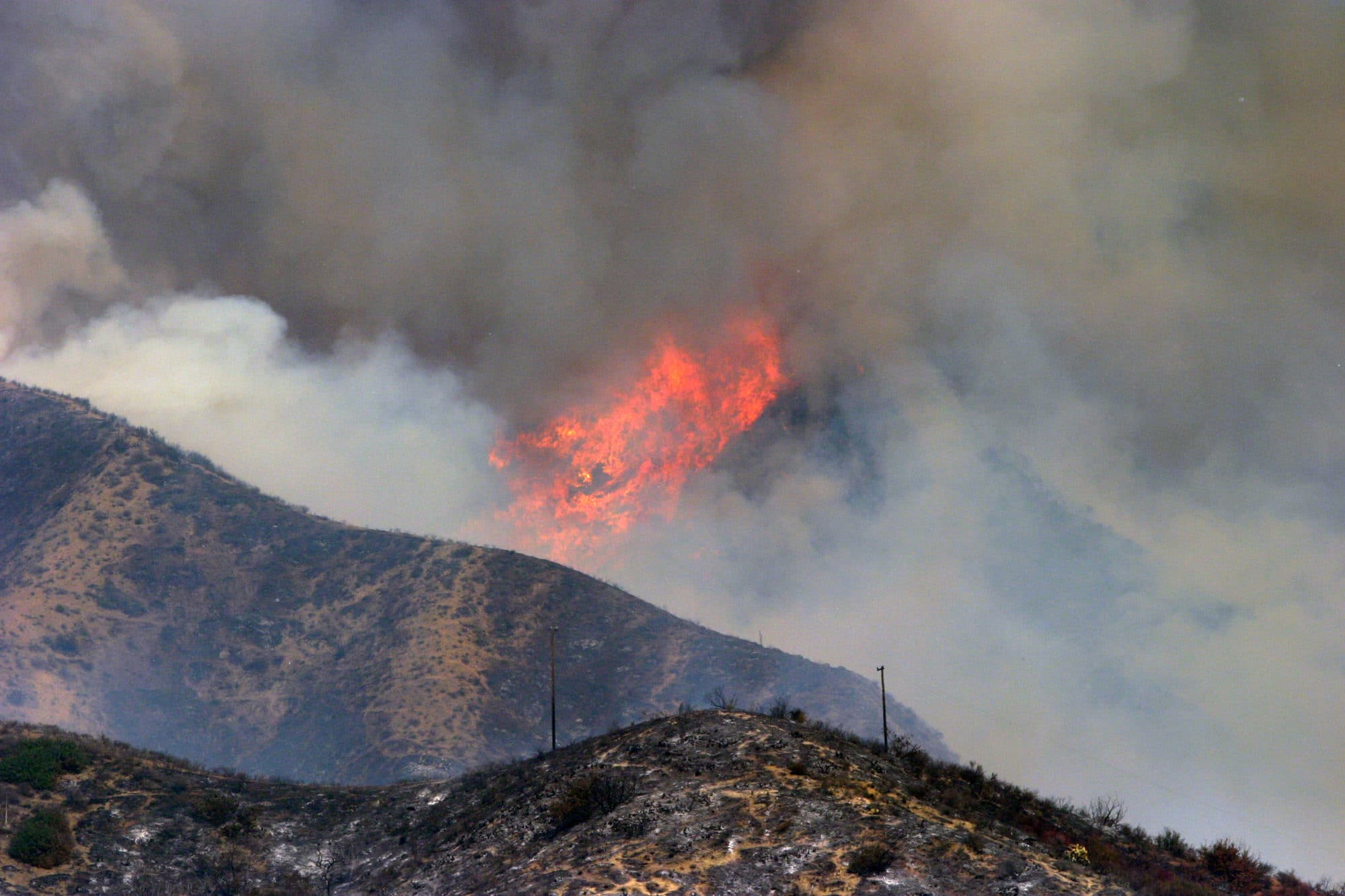 Neither rain or snow nor dead of night, wildfires however have been known to delay Sierra Remodeling projects!