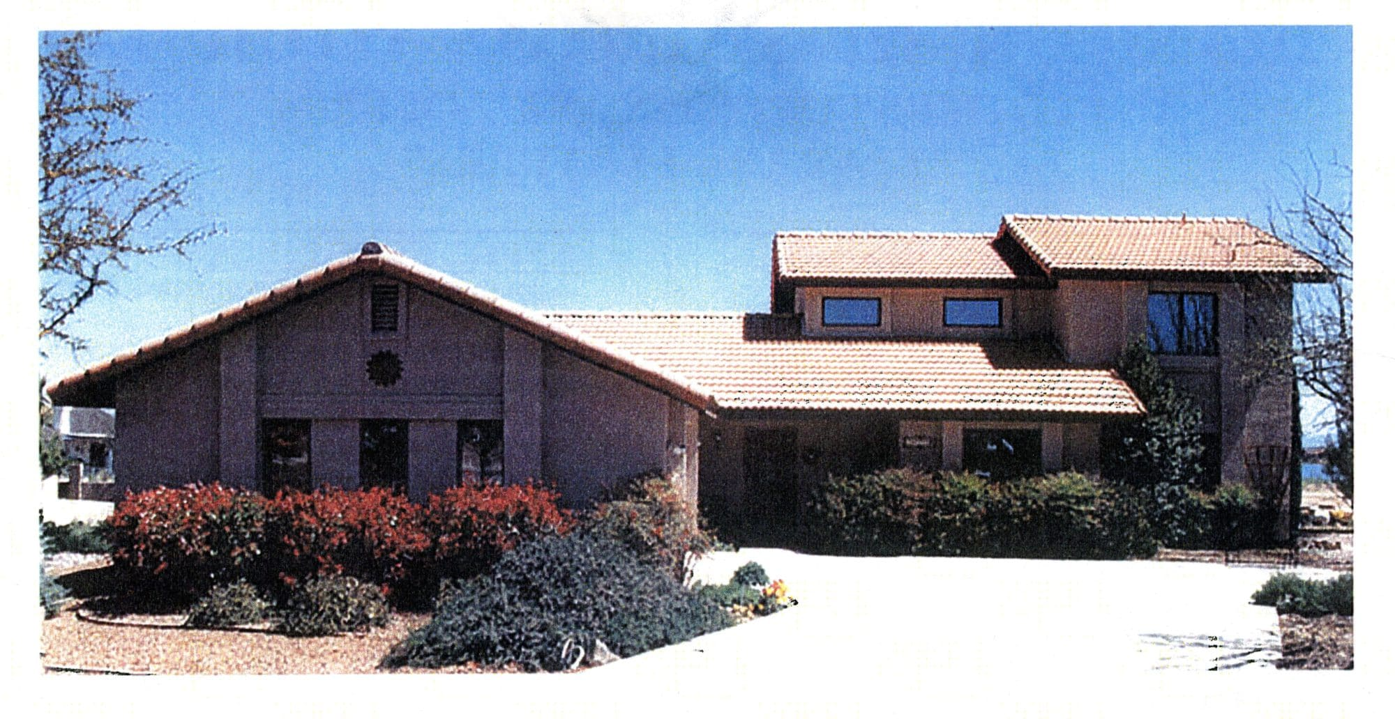 Sierra Remodeling Custom Home Model 2024 front view