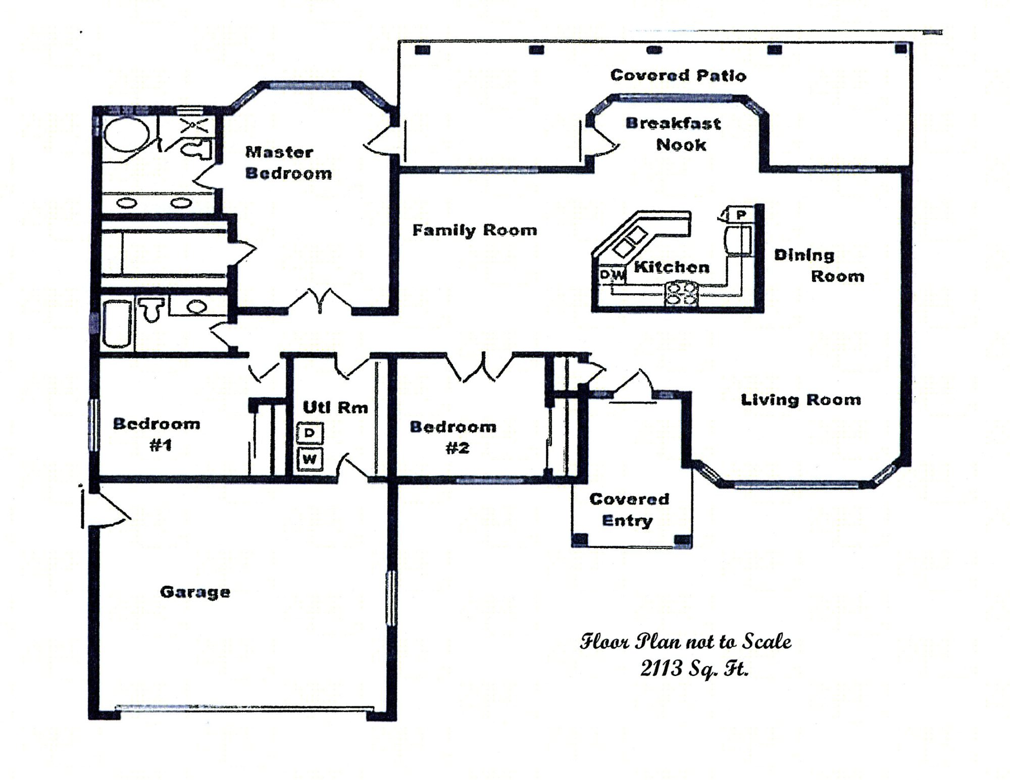 Sierra Remodeling Custom Home Model 2113 floor plan