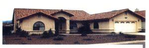 Sierra Remodeling Custom Home Model 2180 front view