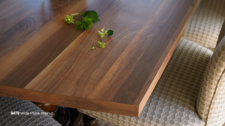 Formica Laminate Countertop 9479 Wide Plank Walnut