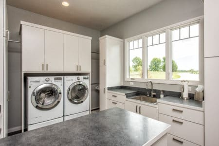 Sierra Remodeling will design a contemporary laundry room for you!