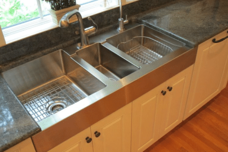 Sierra Remodeling replaces kitchen sinks too!