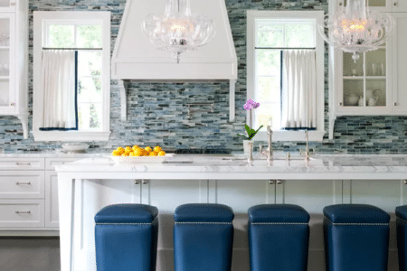 Let Sierra Remodeling update your backsplash with beautiful glass mosaics!