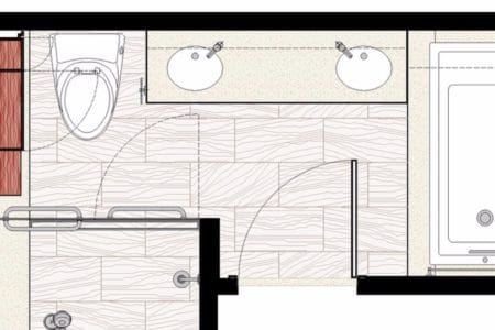 master bath floor plan layout
